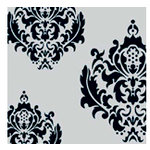 Teresa Collins - 8 x 8 Transparency - Ornate Damask, CLEARANCE