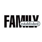 Teresa Collins - Cling Mounted Rubber Stamp - Family Established, CLEARANCE