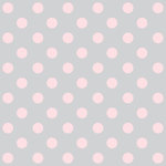 Teresa Collins - Crush Collection - Valentines - 8 x 8 Transparency - Pink Dots, CLEARANCE