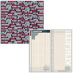 Teresa Collins - Sports Edition Collection - 12 x 12 Double Sided Paper - Tag Sports Defined