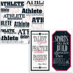 Teresa Collins - Sports Edition Collection - 12 x 12 Double Sided Paper - Sports Athlete