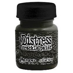 Ranger Ink - Tim Holtz - Distress Crackle Paint - Black Soot