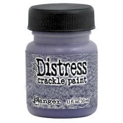 Ranger Ink - Tim Holtz - Distress Crackle Paint - Dusty Concord