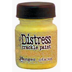 Ranger Ink - Tim Holtz - Distress Crackle Paint - Mustard Seed