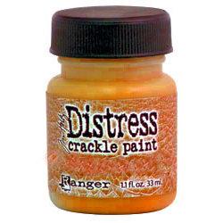 Ranger Ink - Tim Holtz - Distress Crackle Paint - Spiced Marmalade