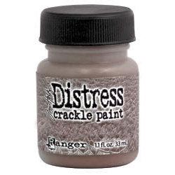 Ranger Ink - Tim Holtz - Distress Crackle Paint - Walnut Stain