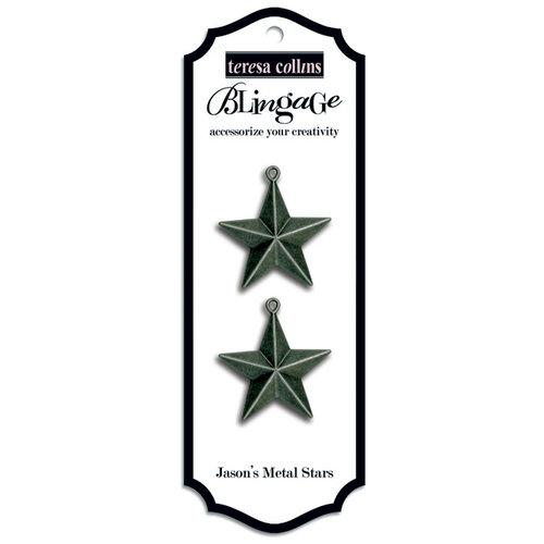 Teresa Collins - Blingage Collection - Jason's Metal Stars