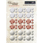 Teresa Collins - Christmas Cottage Collection - Faceted Rhinestones