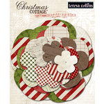 Teresa Collins - Christmas Cottage Collection - Paper Flowers