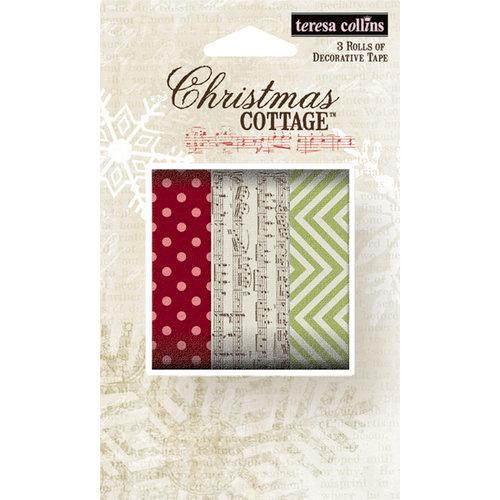 Teresa Collins - Christmas Cottage Collection - Washi Tape