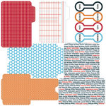 Teresa Collins - Celebrate Collection - Die Cut Library Envelopes