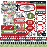 Teresa Collins - Christmas Home Collection - 12 x 12 Die Cut Paper