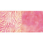 Teresa Collins - Freestyle Collection - 12 x 12 Double Sided Paper - Zebra