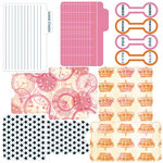 Teresa Collins - Freestyle Collection - Die Cut Library Envelopes