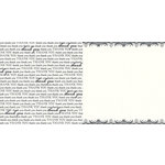 Teresa Collins - Giving Thanks Collection - 12 x 12 Double Sided Paper - Thank You