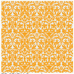 Teresa Collins - Giving Thanks Collection - 12 x 12 Transparency - Damask, CLEARANCE