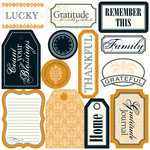 Teresa Collins - Giving Thanks Collection - Die Cut Tags