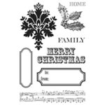 Teresa Collins - Noel Collection - Christmas - Clear Acrylic Stamps
