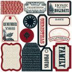 Teresa Collins - Noel Collection - Christmas - Die Cut Tags