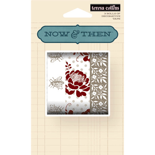 Teresa Collins - Now And Then Collection - Washi Tape