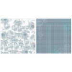 Teresa Collins - On the Edge Collection - 12 x 12 Double Sided Paper - Distressed Dots