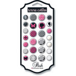 Teresa Collins - Posh Collection - Decorative Brads