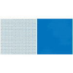 Teresa Collins - Sports Edition II Collection - 12 x 12 Double Sided Paper - Blue Numbers