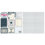 Teresa Collins - Sports Edition II Collection - 12 x 12 Double Sided Paper - Tags