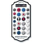 Teresa Collins - Sports Edition II Collection - Decorative Brads
