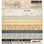 Teresa Collins - Vintage Finds Collection - 6 x 6 Paper Pad