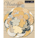 Teresa Collins - Vintage Finds Collection - Paper Flowers