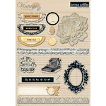 Teresa Collins - Vintage Finds Collection - Layered Stickers