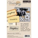 Teresa Collins - Vintage Finds Collection - Flash Cards