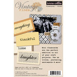 Teresa Collins - Vintage Finds Collection - Flash Cards