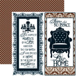 Teresa Collins - Welcome Home Collection - 12 x 12 Double Sided Paper - Quote, CLEARANCE