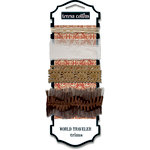 Teresa Collins - World Traveler Collection - Ribbon and Trims