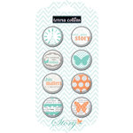 Teresa Collins - Tell Your Story Collection - Decorative Brads