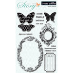 Teresa Collins - Tell Your Story Collection - Clear Acrylic Stamps