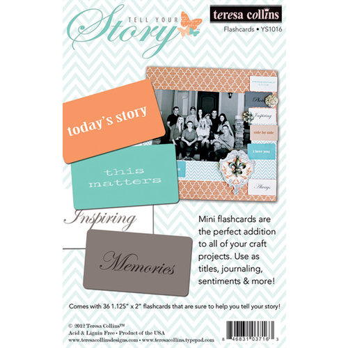 Teresa Collins - Tell Your Story Collection - Flash Cards