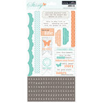 Teresa Collins - Tell Your Story Collection - Cardstock Stickers - One