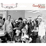 Teresa Collins - Candy Cane Lane Collection - Christmas - Photo Overlays