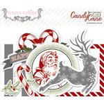 Teresa Collins Designs - Candy Cane Lane Collection - Christmas - Ephemera Pack