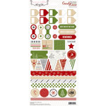 Teresa Collins - Candy Cane Lane Collection - Christmas - Cardstock Stickers - Decorative
