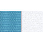 Teresa Collins - Everyday Moments Collection - 12 x 12 Double Sided Paper - Ornate Flourish