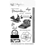 Teresa Collins - Everyday Moments Collection - Clear Acrylic Stamps