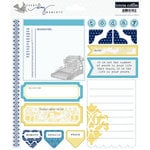 Teresa Collins - Everyday Moments Collection - Die Cut Cardstock - Three