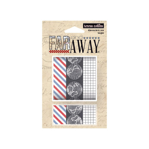 Teresa Collins - Far and Away Collection - Washi Tape