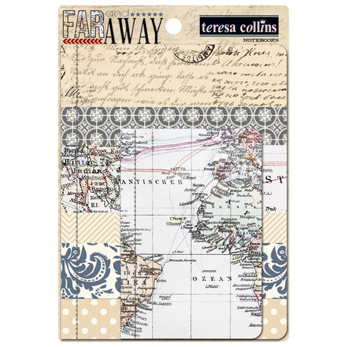 Teresa Collins - Far and Away Collection - Notebooks