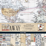 Teresa Collins - Far and Away Collection - 12 x 12 Paper and Accessories Pack