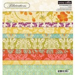Teresa Collins - Fabrications Collection - Canvas - 8 x 8 Paper Pad